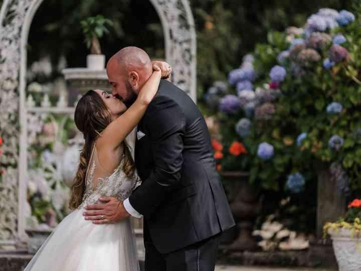 The wedding of Larissa and Nick