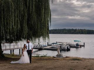 Nick and Larissa's Wedding in Lakewood, Washington 30