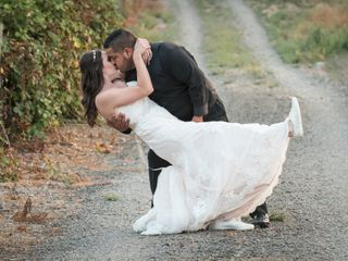 The wedding of Danielle and Dante