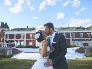 The wedding of Alicia and Dan