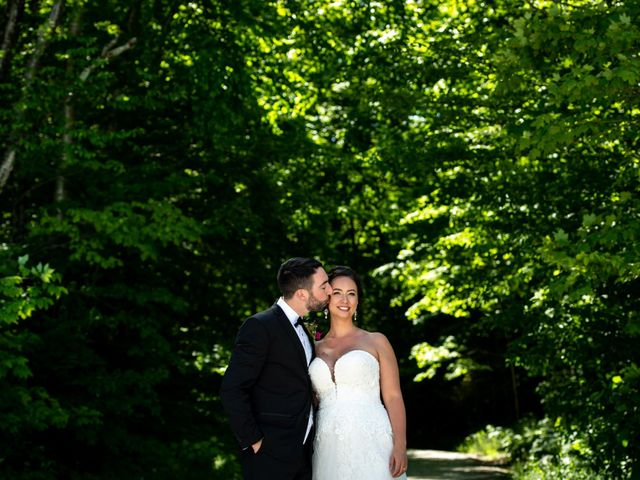 The wedding of Jeannine and William