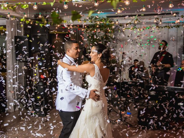 The wedding of Natalie and Pedro
