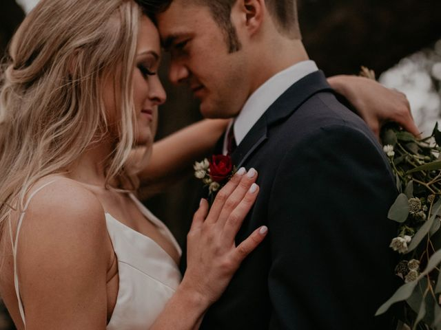 The wedding of Marin and Cody