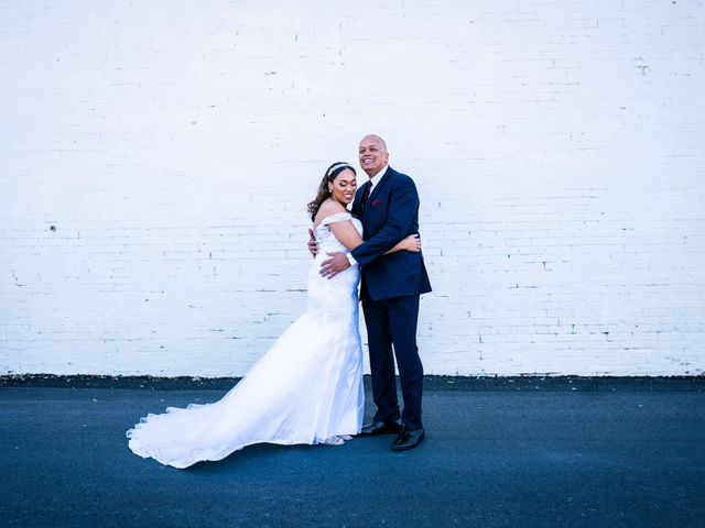The wedding of Marisa and Blake