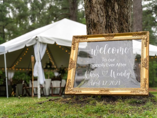 Chris and Wendy's Wedding in Glen Saint Mary, Florida 2