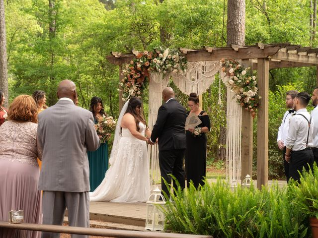 Chris and Wendy's Wedding in Glen Saint Mary, Florida 15