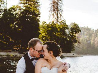 The wedding of Brandon and Abby