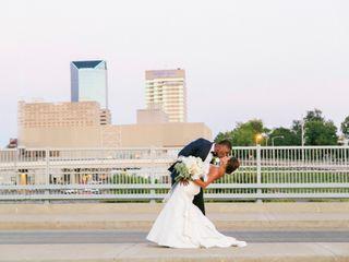 The wedding of Larkin and Ravi