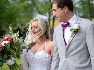 The wedding of Kylie and Caleb