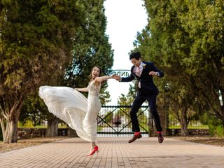 The wedding of Cate and Dawei
