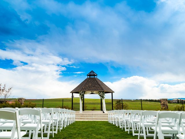 Dawei and Cate's Wedding in Highlands Ranch , Colorado 12