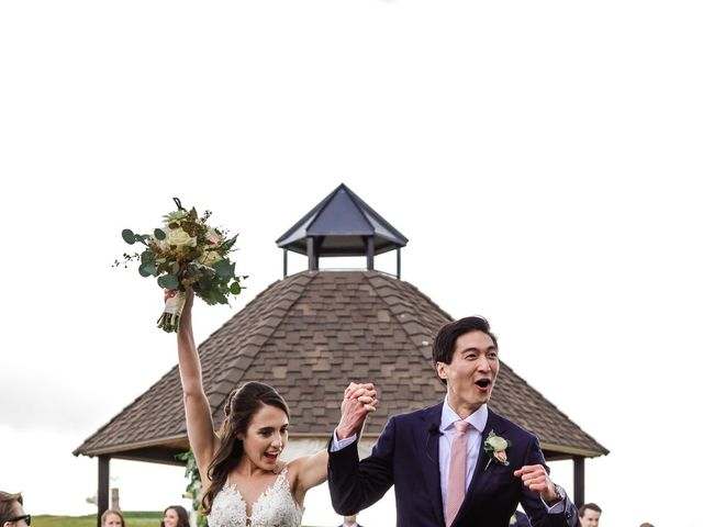 Dawei and Cate's Wedding in Highlands Ranch , Colorado 14