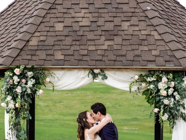 Dawei and Cate's Wedding in Highlands Ranch , Colorado 18