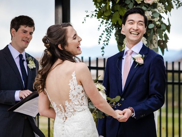 Dawei and Cate's Wedding in Highlands Ranch , Colorado 19