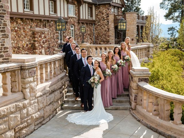 Dawei and Cate's Wedding in Highlands Ranch , Colorado 23