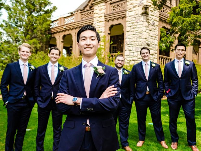 Dawei and Cate's Wedding in Highlands Ranch , Colorado 24