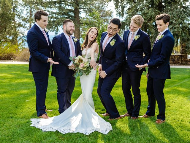 Dawei and Cate's Wedding in Highlands Ranch , Colorado 26