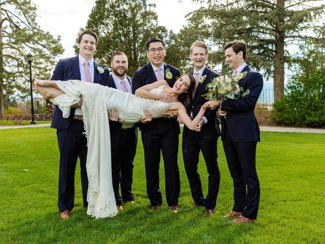 Dawei and Cate's Wedding in Highlands Ranch , Colorado 27