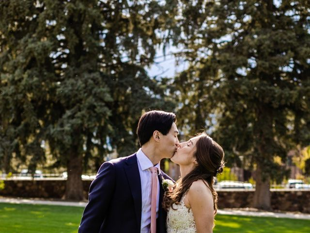 Dawei and Cate's Wedding in Highlands Ranch , Colorado 32
