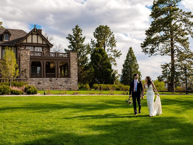 Dawei and Cate's Wedding in Highlands Ranch , Colorado 34
