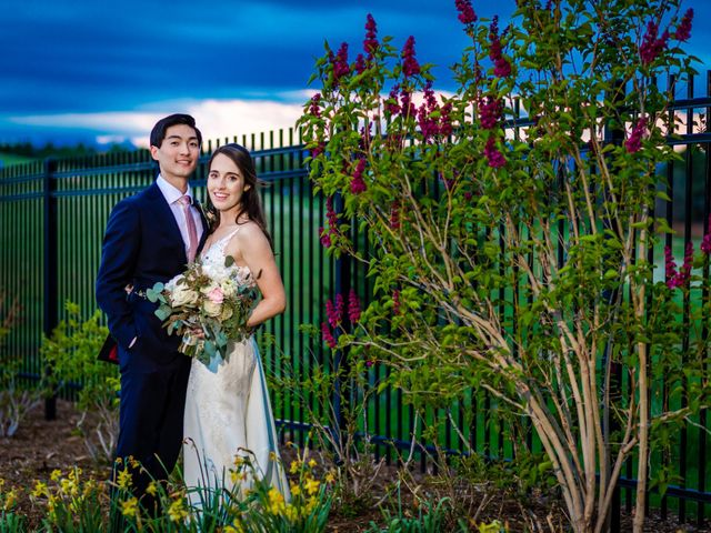 Dawei and Cate's Wedding in Highlands Ranch , Colorado 43