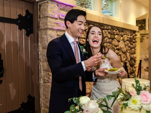 Dawei and Cate's Wedding in Highlands Ranch , Colorado 45