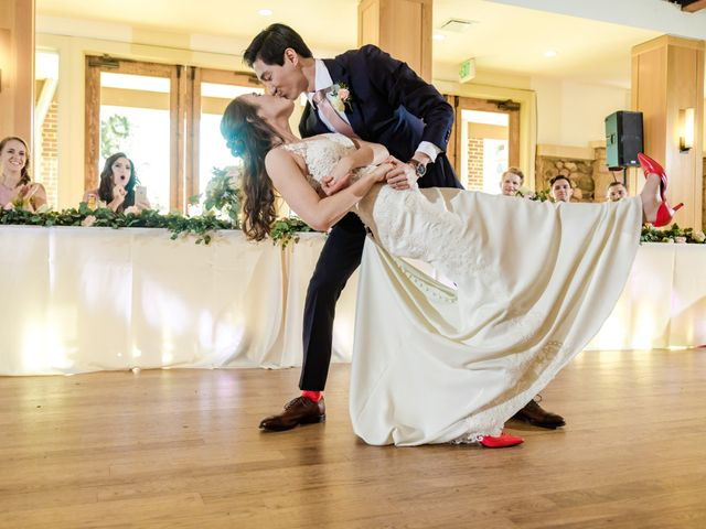 Dawei and Cate's Wedding in Highlands Ranch , Colorado 46