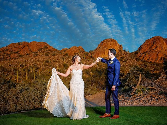 Stephanie and James's Wedding in Gold Canyon, Arizona 5