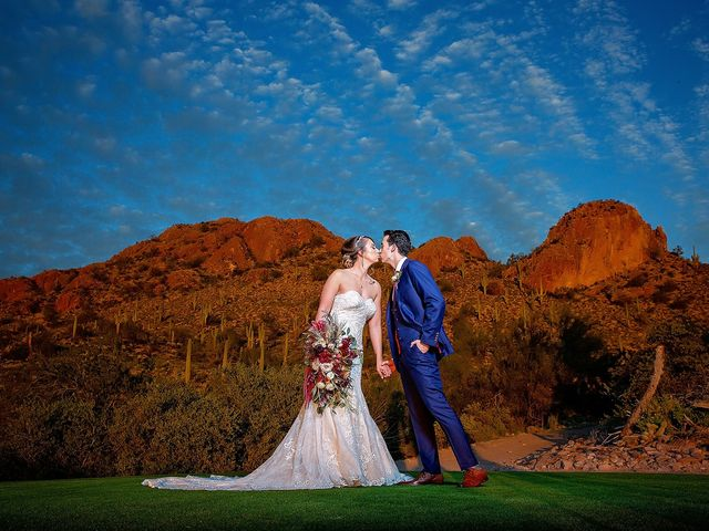 Stephanie and James's Wedding in Gold Canyon, Arizona 7