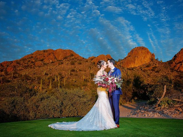 Stephanie and James's Wedding in Gold Canyon, Arizona 9