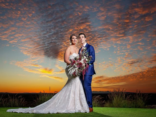 Stephanie and James's Wedding in Gold Canyon, Arizona 12
