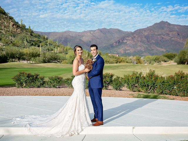 Stephanie and James's Wedding in Gold Canyon, Arizona 25