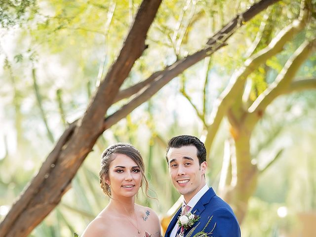 Stephanie and James's Wedding in Gold Canyon, Arizona 27