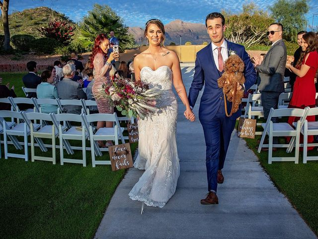 Stephanie and James's Wedding in Gold Canyon, Arizona 66