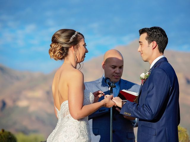 Stephanie and James's Wedding in Gold Canyon, Arizona 70