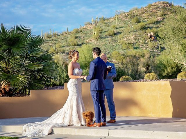 Stephanie and James's Wedding in Gold Canyon, Arizona 71