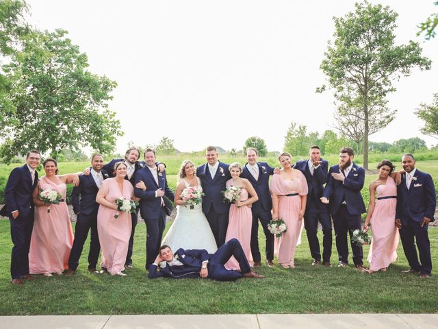 Tanner and Kelsey's Wedding in Kenosha, Wisconsin 45