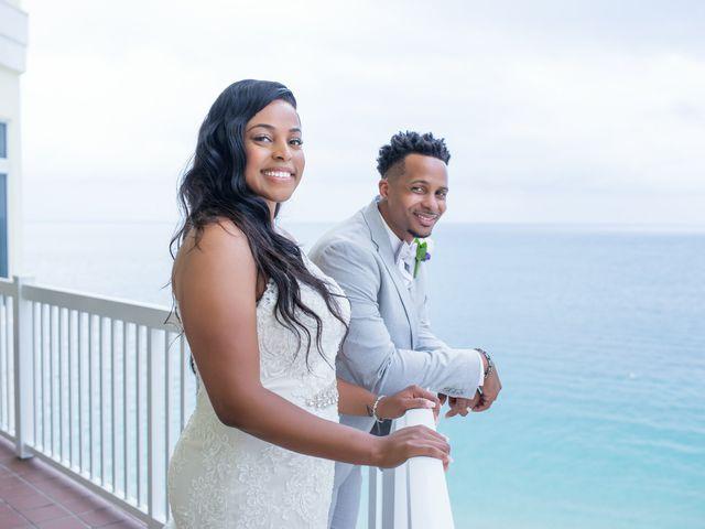 Jarrett and Ebone's Wedding in Fort Lauderdale, Florida 15