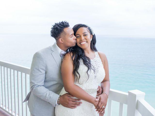 The wedding of Ebone and Jarrett