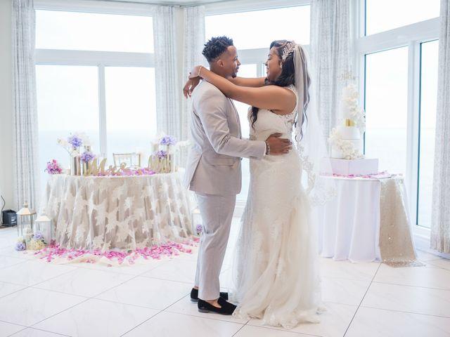 Jarrett and Ebone's Wedding in Fort Lauderdale, Florida 16