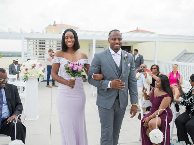 Jarrett and Ebone's Wedding in Fort Lauderdale, Florida 33