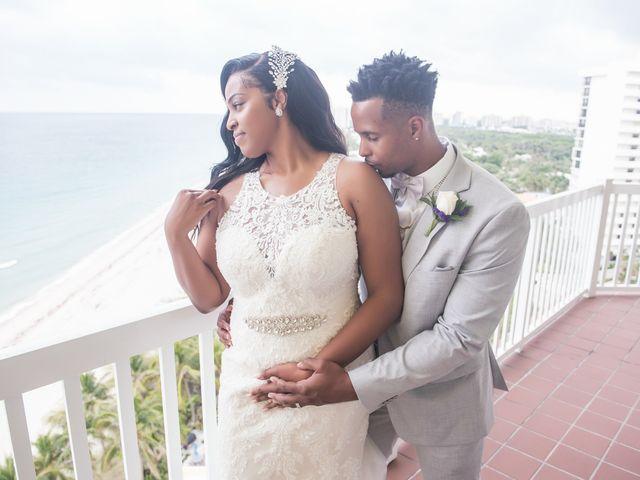 Jarrett and Ebone's Wedding in Fort Lauderdale, Florida 49