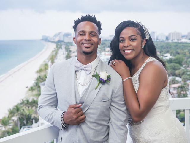 Jarrett and Ebone's Wedding in Fort Lauderdale, Florida 50