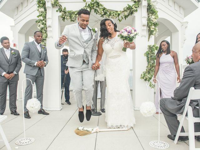 Jarrett and Ebone's Wedding in Fort Lauderdale, Florida 55