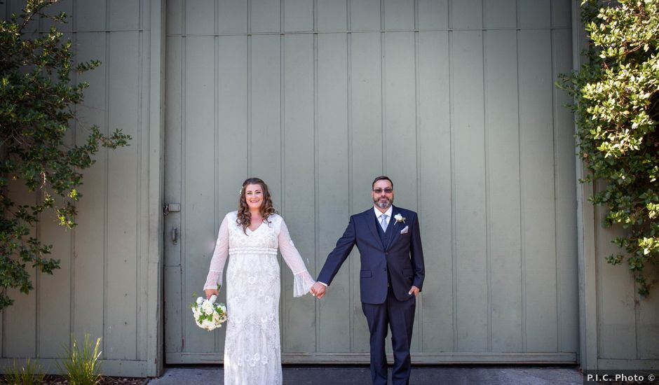 Cesar and Kimberly's Wedding in Soquel, California
