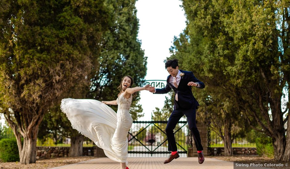 Dawei and Cate's Wedding in Highlands Ranch , Colorado