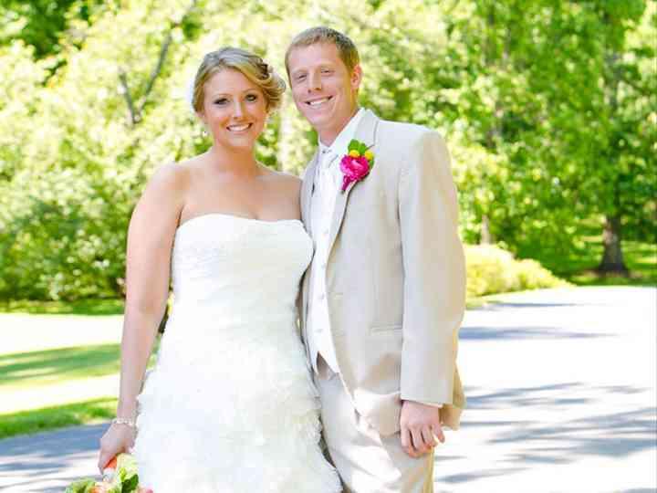 The wedding of Jordan and Rachael