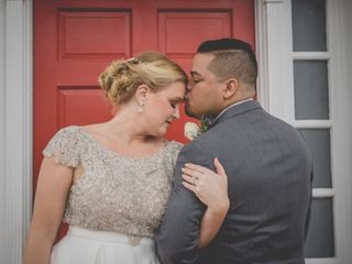 The wedding of Cybil and Andrew