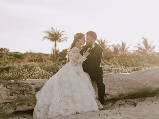 Anto and Tiffany's Wedding in Cancun, Mexico 10
