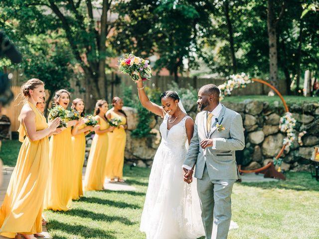 David  and Ivy 's Wedding in Waltham, Massachusetts 3
